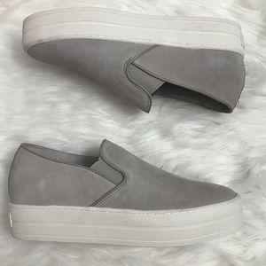 Ladies Suede platform sneakers